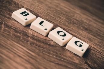 Blog letters